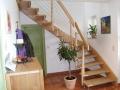 Holzedelstahltreppe- Treppen Linke-Rostock