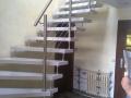 Steintreppe, ES-Bolzensystem, ES-Pfosten, ES-Seilsystem, ES-Handlauf 1