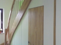 Treppenverkleidung mit Tür