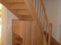 eingestemmt mit Treppenunterschrank